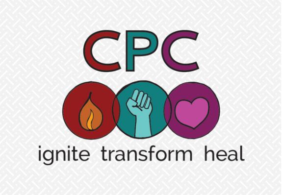 Logo design and website design for Center for Participatory Change in Asheville, NC