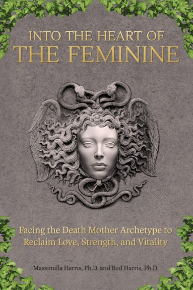 Into the Heart of the Femine - book cover design and self-publishing support