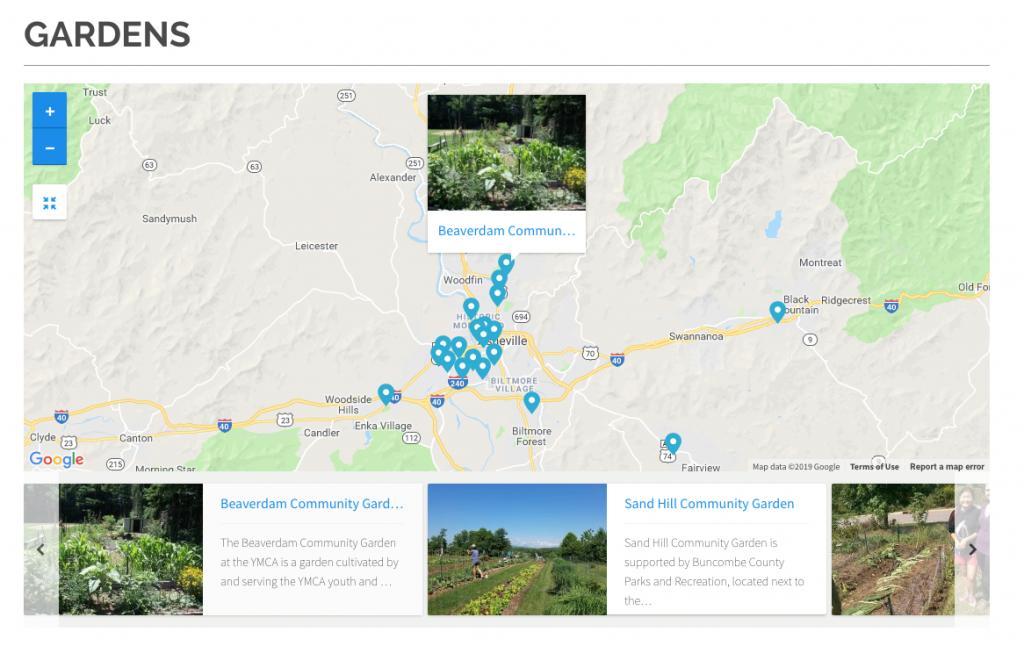 Custom website for Bountiful Cities