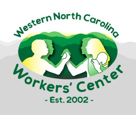 Custom logo for WNC Workers' Center