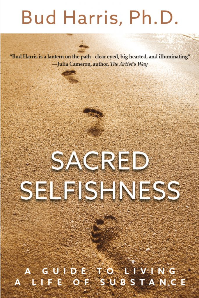 Sacred Selfishness - book cover design and self-publishing support