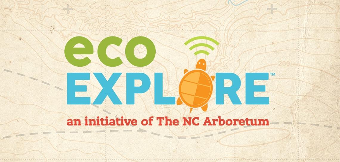 ecoEXPLORE website redesign - a project of The NC Arboretum